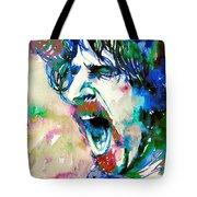 Frank Zappa  Portrait.4 Tote Bag