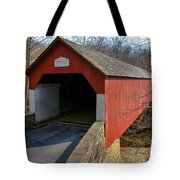 Frankenfield Covered Bridge Tote Bag
