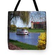 Frankenmuth Riverboat Tote Bag