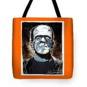 Frankenstein Boris Karloff Tote Bag