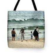 Frankfort Beach Tote Bag