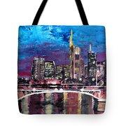 Frankfurt Main Germany - Mainhattan Skyline Tote Bag