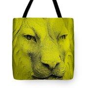 Frankie Lion Yellow Tote Bag