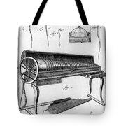 Franklin: Armonica, 1761 Tote Bag