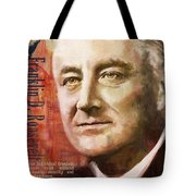 Franklin D. Roosevelt Tote Bag