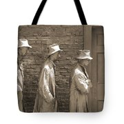 Franklin Delano Roosevelt Memorial - Bits And Pieces1 Tote Bag by Mike McGlothlen
