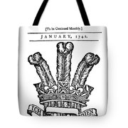 Franklin General Magazine Tote Bag