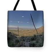 Franklin Mountains Landscape 4 Tote Bag