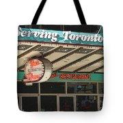 Fran's Restaurant  Toronto Diner Icon Tote Bag