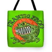Frantic Frog Tote Bag