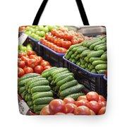 Frash Fruit And Vegetables Tote Bag