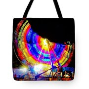 Freak Out ... Electric Rainbow Tote Bag