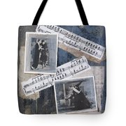 Fred And Ginger Collage Tote Bag
