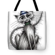 Fred The Cat Tote Bag