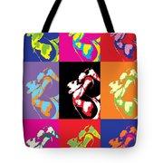 Freddie Mercury Pop Art Tote Bag