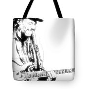 Freddy And His Guitar Tote Bag