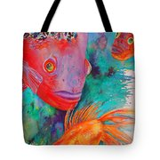 Freddy Fish And Friends Tote Bag