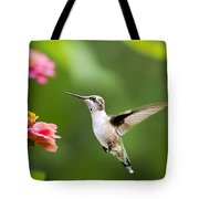 Free As A Bird Hummingbird Tote Bag