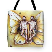 Free As A Gemini Tote Bag