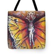 Free As The Flame Tote Bag