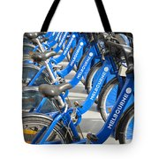 Free Bicycle System In Melbourne Australia Tote Bag