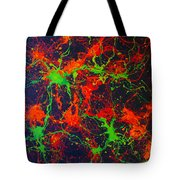 Free Cells In Red Tote Bag