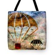Free Falling Tote Bag by Angelina Vick