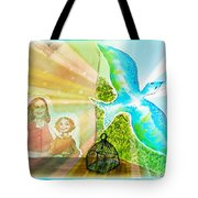 Free Spirit Dreamscape - Within Border Tote Bag