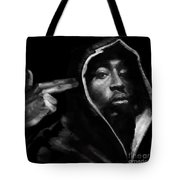 Free Will - 2 Pac Tote Bag
