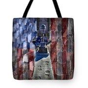 Freedom Ain't Free Tote Bag by DJ Florek