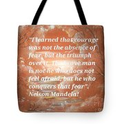 Freedom And Courage Tote Bag