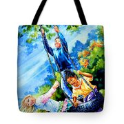 Freedom Chains Tote Bag