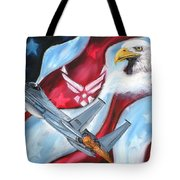 Freedom Eagles Tote Bag