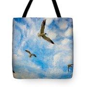 Freedom Impasto Tote Bag