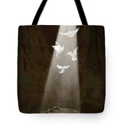 Freedom Tote Bag by Tamer and Cindy Elsharouni