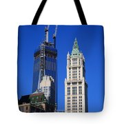 Freedom Tower And Woolworth Building Tote Bag