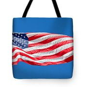 Freedom American Flag Art Prints Tote Bag