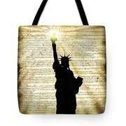 Freedoms Light Tote Bag