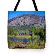 Freestone Inn Lakeside View Tote Bag