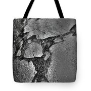 Freeway Pole Art Sailor-pole Art Photo Series Silver  Black Tote Bag