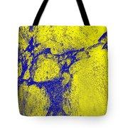 Freeway Pole Art Sailor-pole Art Photo Series Yellow Blue Tote Bag