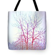 Freezing Cold Feet In Peace Tote Bag