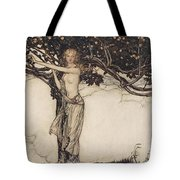 Freia The Fair One Illustration From The Rhinegold And The Valkyrie Tote Bag
