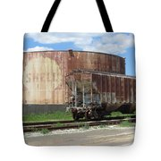 Freight Train Cars 4 Tote Bag