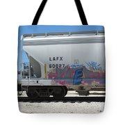 Freight Train Graffiti 7 Tote Bag