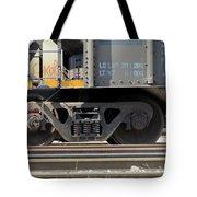 Freight Train Wheels 1 Tote Bag