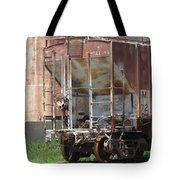 Freight Train Wheels 12 Tote Bag