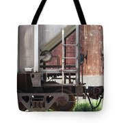 Freight Train Wheels 16 Tote Bag