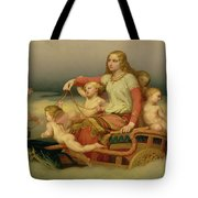 Freja Seeking Her Husband Tote Bag