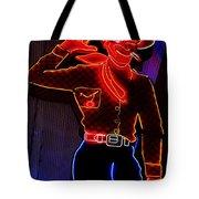 Fremont Cowboy Tote Bag